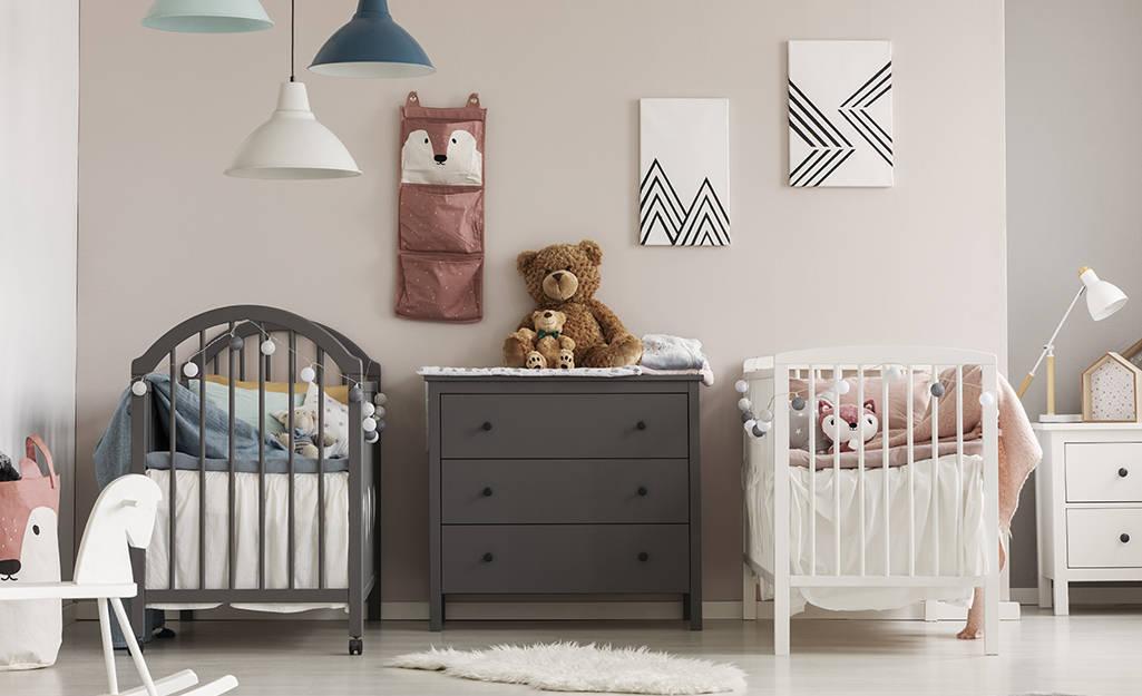Créer une belle chambre jumeaux : quels meubles installés ?